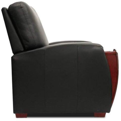 Premium series celebrity lounger Style Luxurious manual Leather recliner home Theater Seating