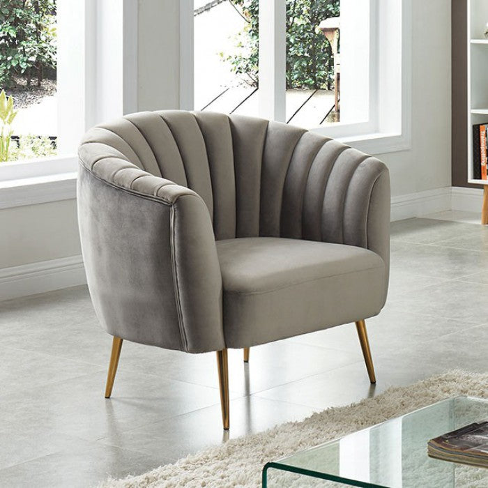 Dionne Accent chair with multicolored