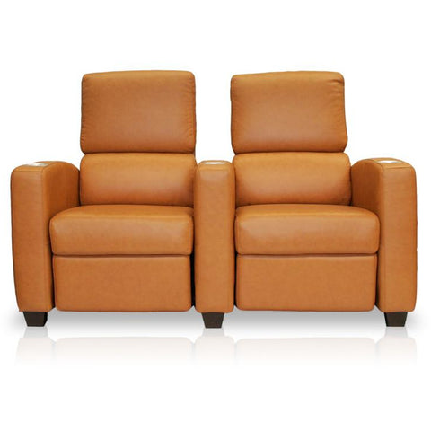 Premium series deco penthouse lounger Style Luxurious Leather manual recliner home Theater Seating