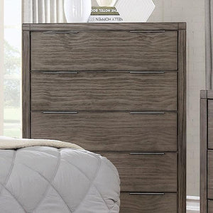 Edward Rustic Wood Multi-drawer Chest