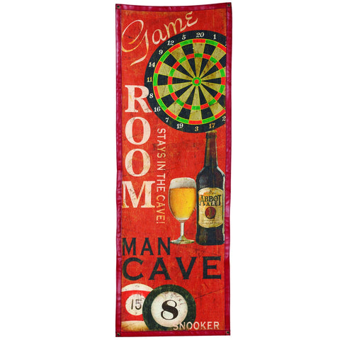 Game Room and Man Cave Banner