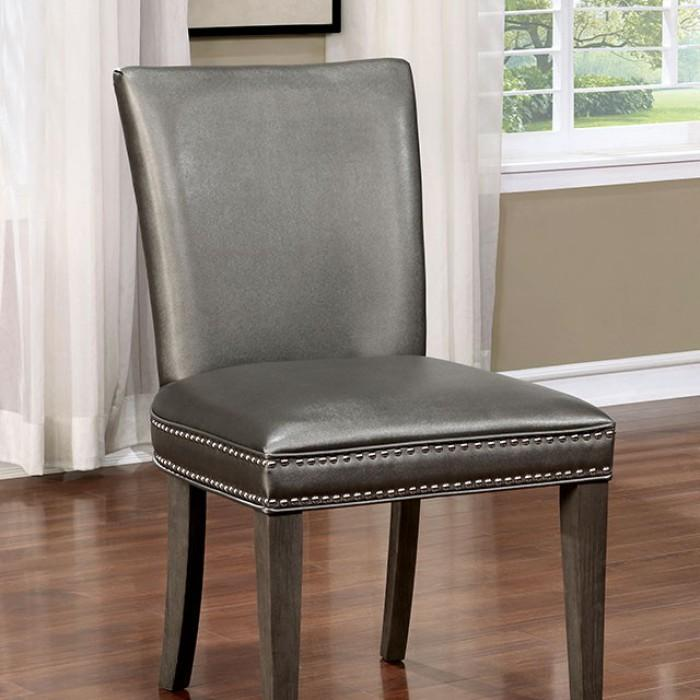 Gina Transitional Style Side chair