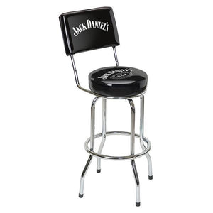 Jack Daniel's® Bar Stool w/Backrest