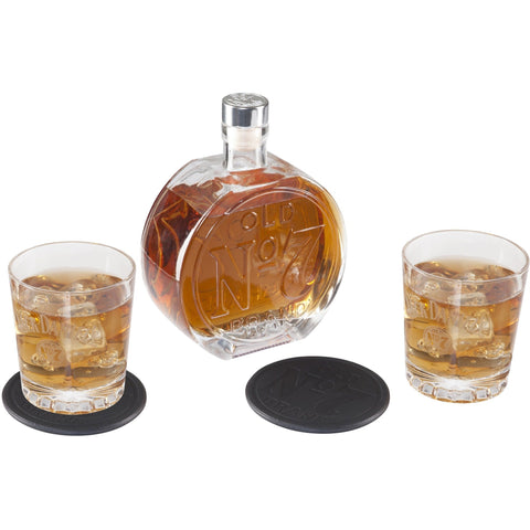 Jack Daniel's Old No. 7 Decanter Set
