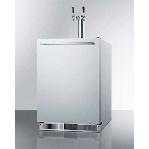 Fully Frost-Free Dual Tap Home Kegerator by Summit