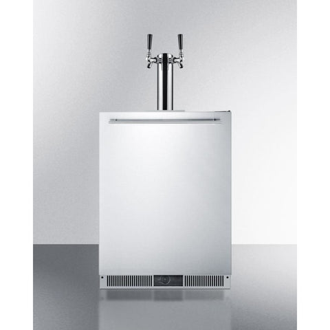 Image of Fully Frost-Free Dual Tap Home Kegerator by Summit
