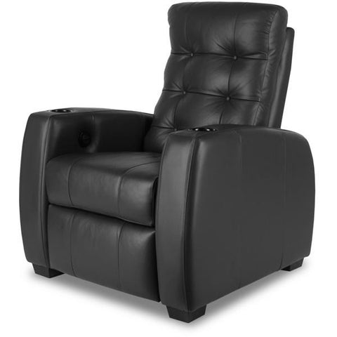 Premium series majestic Lounger Style Luxurious motorized Leather recliner home Theater Seating
