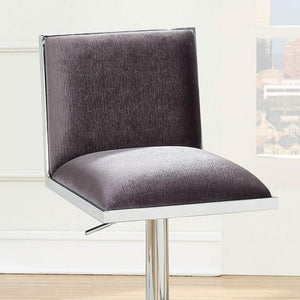 Mango Contemporary Bar Stool in Gray