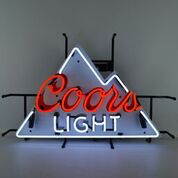 Millercoors - Coors Light Beer Neon Sign