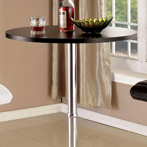 Morgan Contemporary Bar Stool in Black