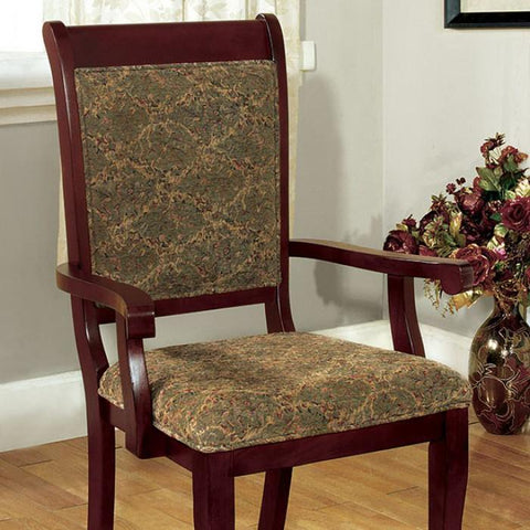 Nick transitional arm chair