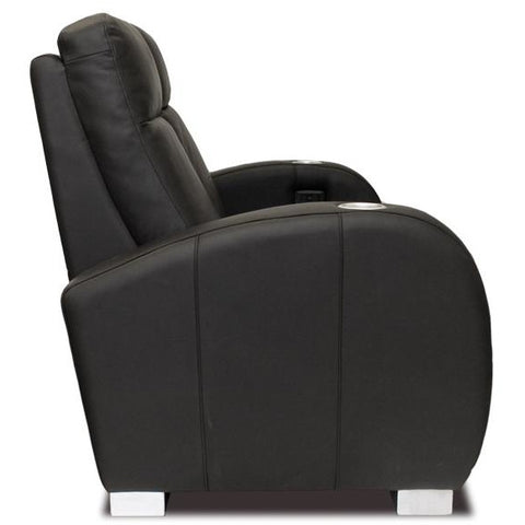 Premium series executive lounger Style Luxurious Leather manual recliner home Theater Seating