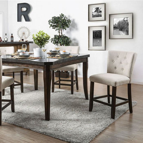 Pierson Pub Table in Antique Dark Oak