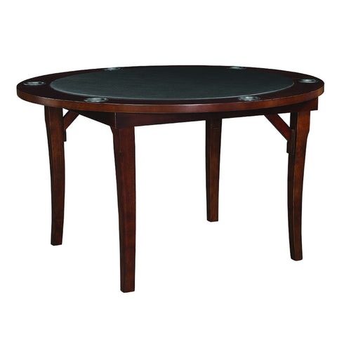 "Ram Game Room 48"" Round Foldable Poker and Game Table"