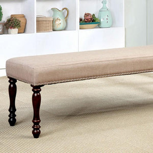 Roselyn Transitional dining bench