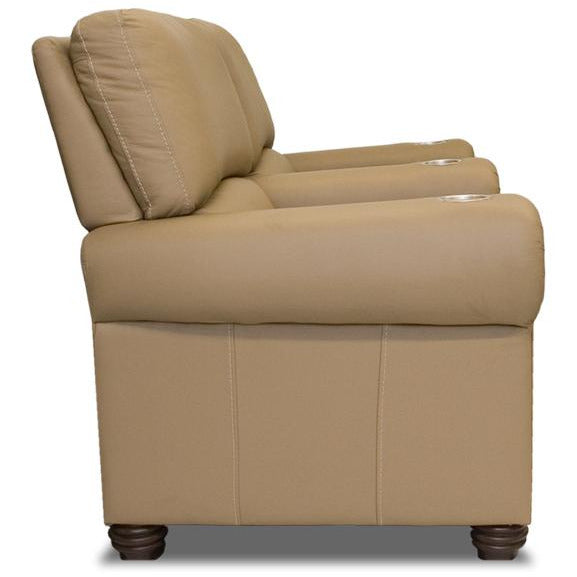 Premium series showtime lounger Style Luxurious Leather manual recliner home Theater Seating