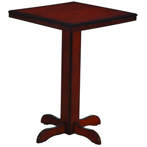 Square Pub Table - Chestnut