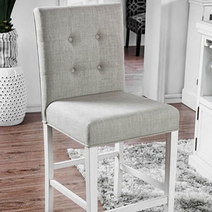 Stanton Transitional Pub Chair (Set of 2) in Antique White