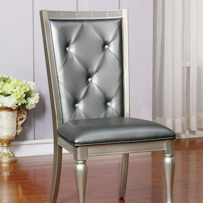 Vern Transitional Style side chair