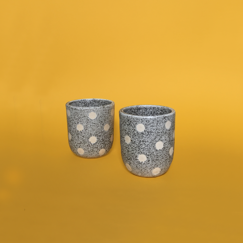 Polka Dot Cups (pair)