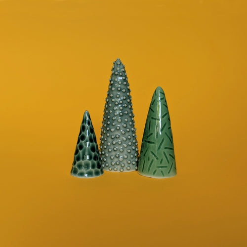 Mini Trees - set of 3