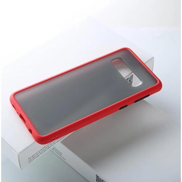 BLACKLOUD Galaxy S10 Plus / Rouge Coque FULLESS pour Samsung