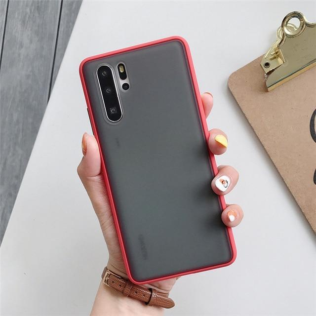 BLACKLOUD Mate 20 Pro / Rouge Coque FULLESS pour Huawei
