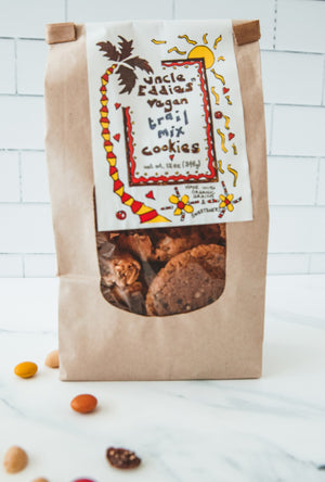 Trail Mix Vegan Cookies