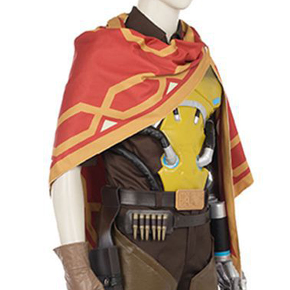 Overwatch Game MCCREE Cosplay Cape