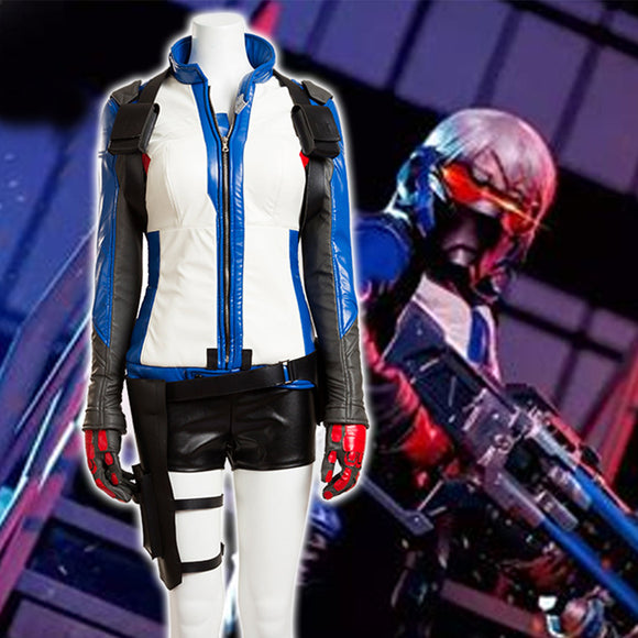 Overwatch Soldier 76 Costume for Women