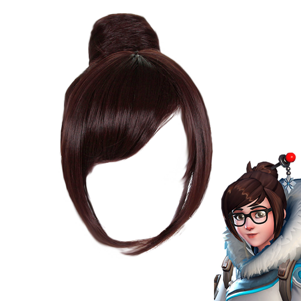 Overwatch Mei Cosplay Wig