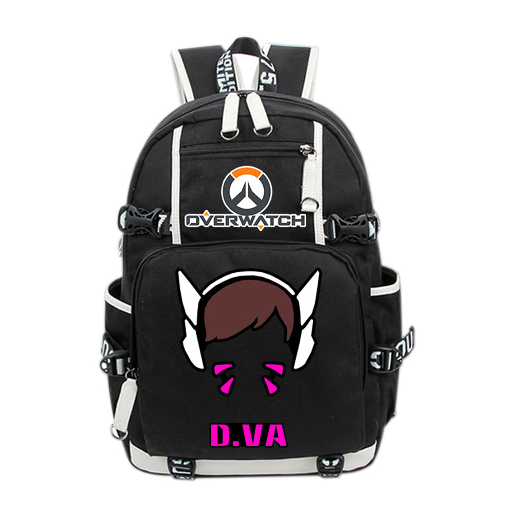 OW Cosplay Backpack Deluxe Oxford Daypack School Bag for Teenagers