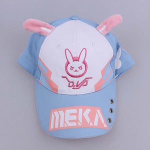 Dva Bunny Baseball Cap Unisex Stylish Embroidered Hat Costume Accessory