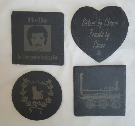 Coasters - click to view more options.