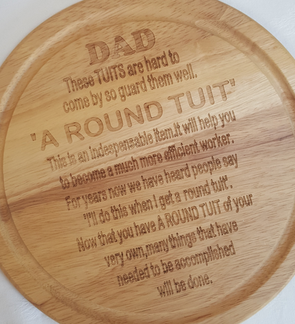 Personalised Plaques - click to view more options.