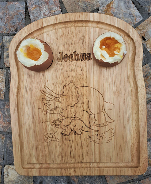 Breakfast Egg and Soldier Boards.