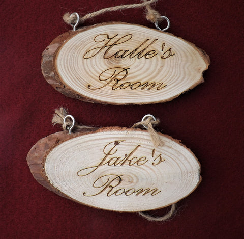 Children's Bedroom Door Signs