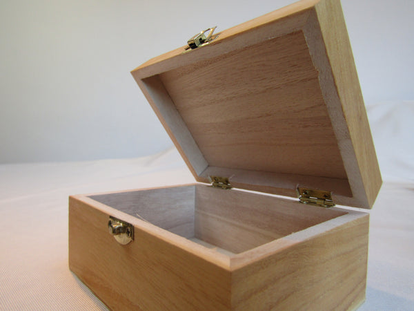 Wooden Keepsake and Trinket Boxes