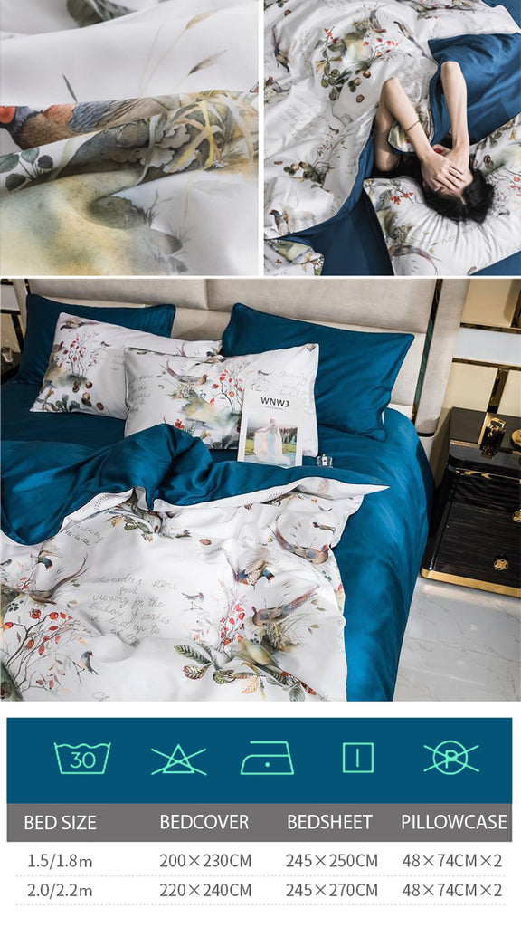 Dreaming Creek Cotton Bedding Set - fourline design
