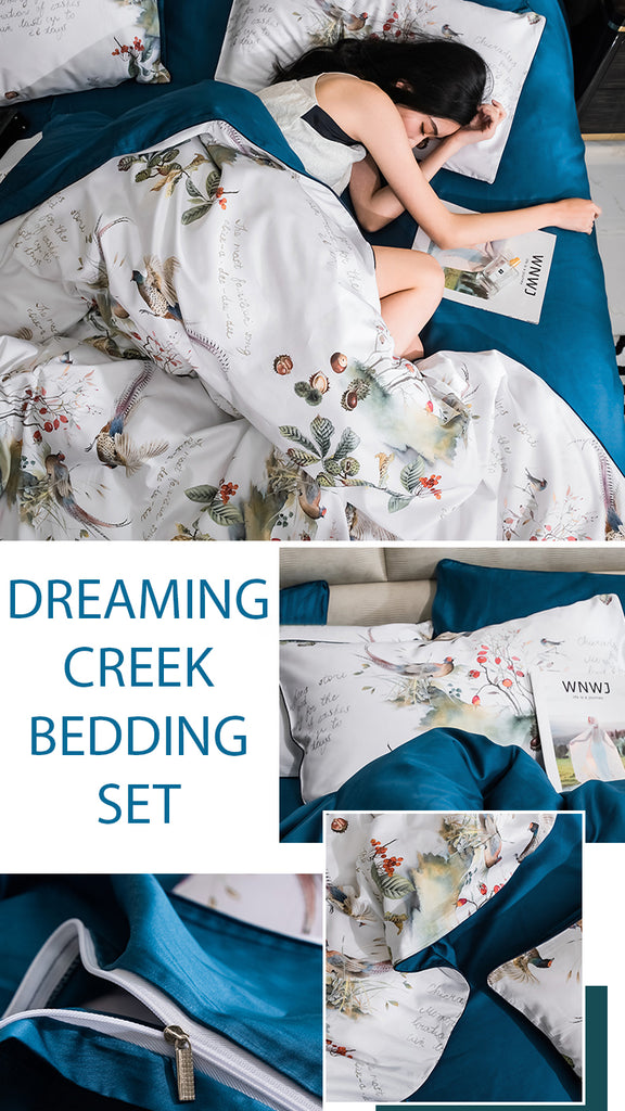 Dreaming Creek Bedding Set - fourlinedesign