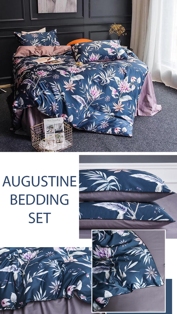 Augustine Cotton Bedding Set - fourline design