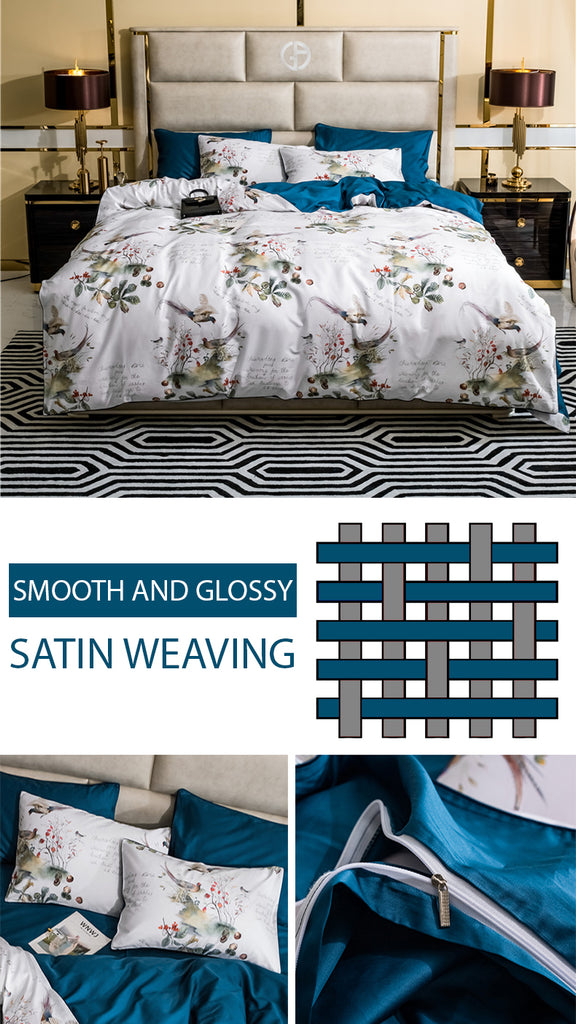 Dreaming Creek Bedding Set Queen Size - fourlinedesign