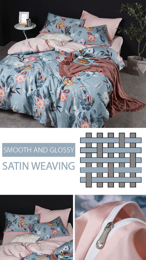 Quincy Cotton Bedding Set - fourlinedesign