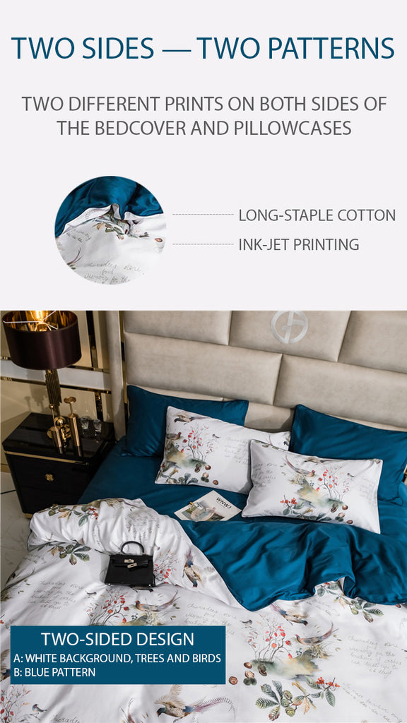 Dreaming Creek Bedding Set King Size - fourline design