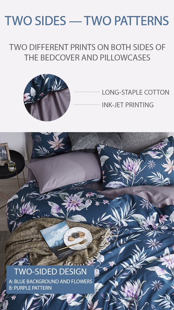 Augustine Bedding Set King Size - fourlinedesign