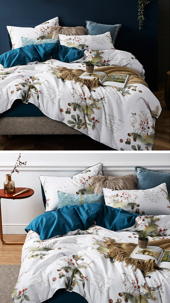 Dreaming Creek Satin Bedding Set - fourline design