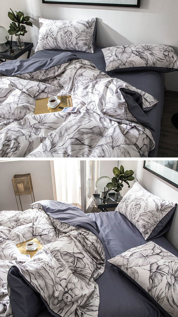 Jungle Ash Bedding Set - fourline design