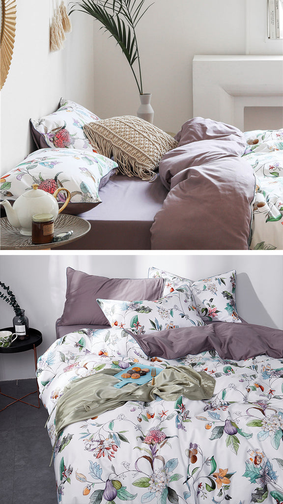 Bella Cotton Bedding Set - fourlinedesign