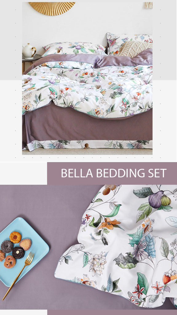 Bella Cotton Bedding Set - fourline design