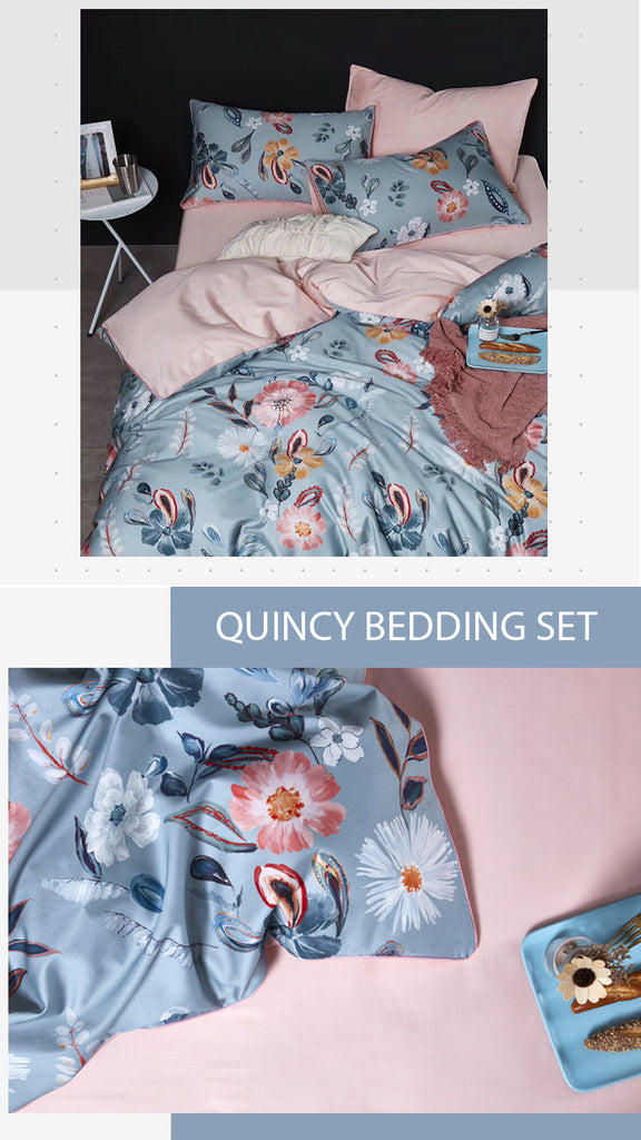 Quincy Bedding Set King Size - fourlinedesign